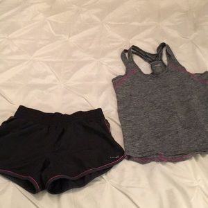 Hind shorts and Avis tank